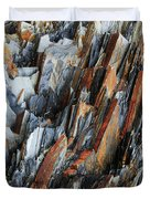 Geologica IIi Duvet Cover by Julian Perry