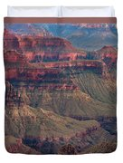 Geological Formations North Rim Grand Canyon National Park Arizona Duvet Cover