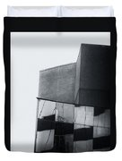 Geometric Angles And Shapes Duvet Cover