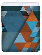 Geometric Beginnings Duvet Cover