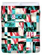 Geometric Confusion 2 Duvet Cover