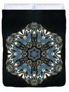 Geometric Glass Reflection Duvet Cover