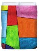Geometric Lighthouse Duvet Cover