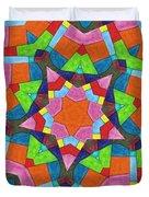 Geometric Pattern 1 Duvet Cover