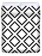 Geometricsquaresdiamondpattern Duvet Cover