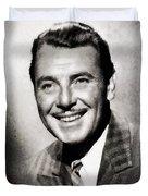 George Brent, Vintage Actor Duvet Cover