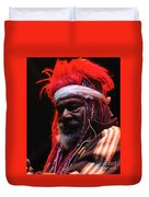 George Clinton Of Parliament Funkadelic Duvet Cover