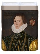 George Gower Portrait Of Thomas Slingsby 1556  1579 1577 Duvet Cover