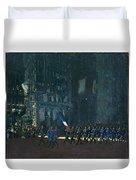 George Luks   Blue Devils On Fifth Avenue   1918 Duvet Cover