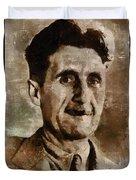 George Orwell Author Duvet Cover