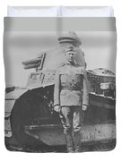 George S. Patton During World War One  Duvet Cover