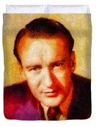 George Sanders, Vintage Hollywood Actor Duvet Cover