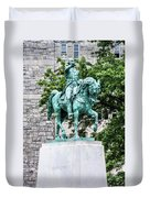 George Washington At West Point Military Academy Duvet Cover