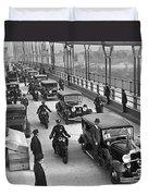 George Washington Bridge Open Duvet Cover