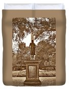 George Washington, Charleston,sc Duvet Cover