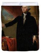 George Washington Lansdowne Portrait Duvet Cover