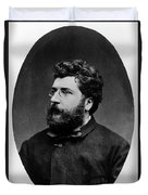 Georges Bizet, French Composer Duvet Cover