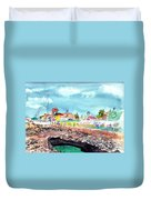 Georgetown Cayman Islands Duvet Cover