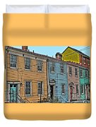 Georgetown Row Duvet Cover