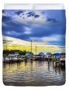 Georgetown Yacht Basin Duvet Cover