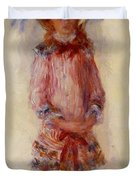Georgette Charpentier Standing 1880 Duvet Cover