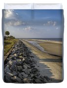 Georgia Atlantic Sea Barrier Duvet Cover
