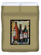 Georgian Wine Fresco Duvet Cover