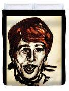 Georgie Fame Portrait Duvet Cover