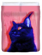 Gepetto The Cat Godzilla Duvet Cover