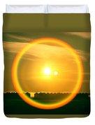 Geraldine Orange Duvet Cover