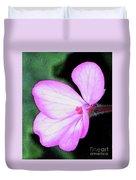 Geranium Blossom Duvet Cover