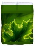 Geranium Leaf Duvet Cover