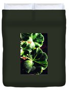 Geranium Leaves Duvet Cover