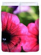 Geranium Pair Duvet Cover