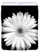 Single Gerbera Daisy Duvet Cover