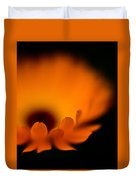 Gerbera Fire Duvet Cover