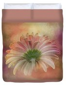 Gerbera From The Back Duvet Cover