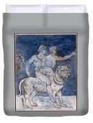 Gericault: Bacchus & Ariadne Duvet Cover