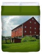 Historic German Bank Barn - Maryland Duvet Cover