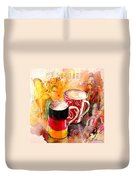 German Mugs And Christie Duvet Cover