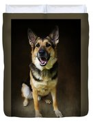 German Shepherd Dog Thor Duvet Cover