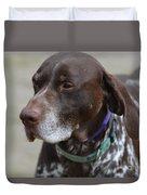 German Shorthaired Pointer Dog Duvet Cover