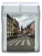 German Street Duvet Cover