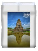 Germany - Monument To The Battle Of The Nations In Leipzig, Saxony Duvet Cover