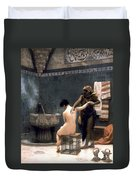 Gerome: The Bath, 1880 Duvet Cover