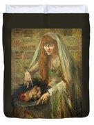 Gertrud Eysoldt As Salome Duvet Cover