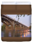 Gervais Bridge Duvet Cover by Steven Richardson
