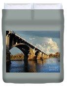 Gervais Street Bridge, Columbia, Sc Duvet Cover