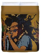 Get Up Stand Up Duvet Cover