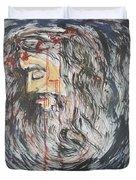 Gethsemane To Golgotha IIi Duvet Cover